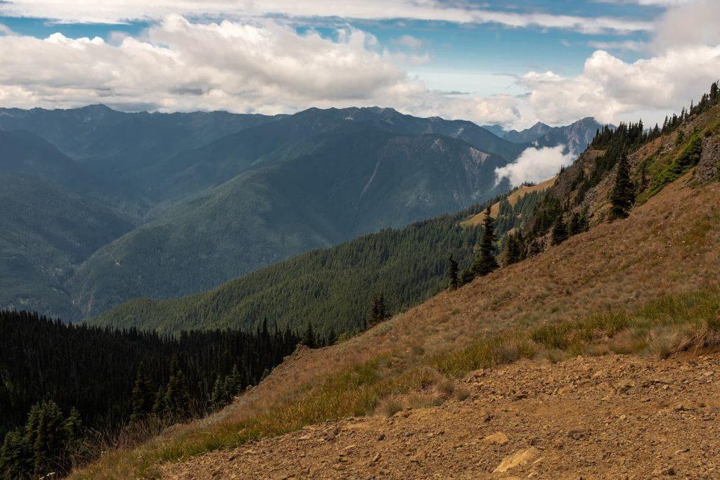 Hurricane Hill trail